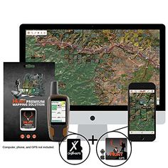 onXmaps HUNT Alabama Chip For GPS PublicPrivate Land Ownership 24k Topo Maps for Garmin GPS Unit microSDSD Card  Premium Membership For Smartphone and Computer ** Find out more about the great product at the image link. This is an Amazon Affiliate links.