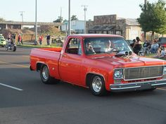 1975 Chevy C10 Pro Street Truck Cruising