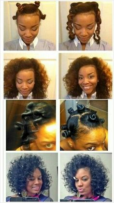 Afro Hairstyles Tutorial
