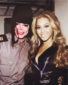 Haha Michael is much beautiful than Beyonce