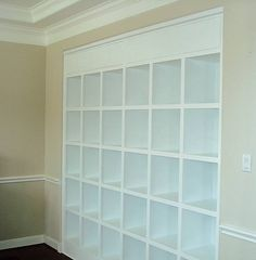 Inset Wall Shelving