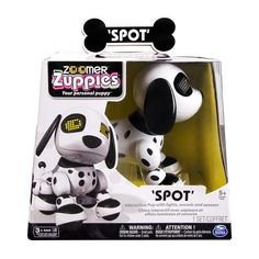 Zoomer Zuppies Interactive Puppy Spot,Electronic Dog,Toy! Your New Best Friend! #SPINMASTER