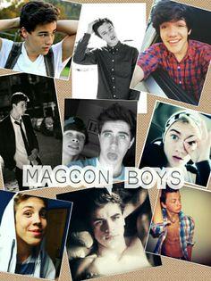 My edit :) Magcon boys <3 @Cameron Dallas @Nash Grier @