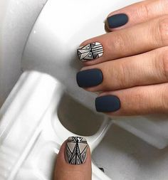 "2,453 Likes, 1 Comments - Маникюр / Ногти / Мастера (@nail_art_club_) on Instagram: ""Repost @nailartist_natali ・・・ Geometry style#маникюрлюберцы…"""