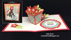 These are a few of [Kelly's] favorite things... For Karen Burniston's Designer Challenge Kelly shows off her favorite Pop it Ups products in this fun interactive card. Find out more on Kelly's blog: http://cruzinkellster.blogspot.com/2016/12/karen-burniston-designer-challenge-1.html