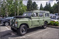 Land Rover 109 Serie II Sw Safari top. So nice edition Series. The most beautiful I think. Lobezno.