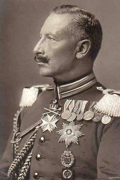 HIRM Wilhelm II, German Emperor and King of Prussia (1859-1941)