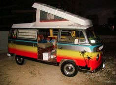 VW bus camper…surf's up!