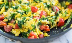 WW Freestyle Zero Point Week: Egg Scramble with Veggies Weight Watchers Meal Plans, Weight Watcher Dinners, Weight Watchers Free, Ww Recipes, Cooking Recipes, Healthy Recipes, Veggie Egg Scramble, Fitness, Meal Planning
