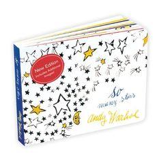 Andy Warhol So Many Stars Board Book by Andy Warhol, http://www.amazon.com/dp/0735341982/ref=cm_sw_r_pi_dp_bvKfub0CNBTCN