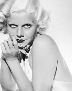 Jean Harlow (1911 - 1937)  Twinkle Twinkle little star...I Wonder wonder where you are......