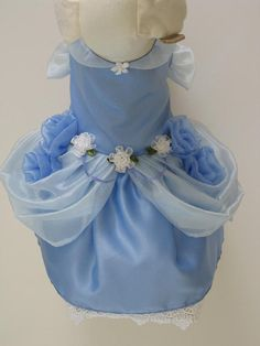 Cinderella Princess Dog Dress Now Available in Other Colors
