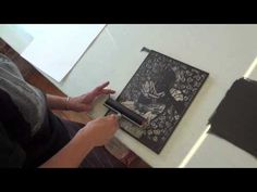 Watch woodcarving artist Julie Rivera as she carves, prints and discusses her work.