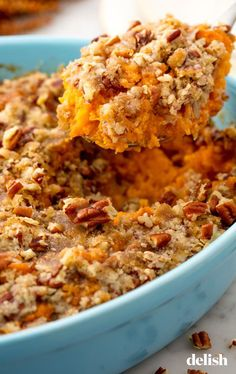 These classic Thanksgiving side dishes, from green bean casseroles to sweet potatoes, are the best to make ahead for the holiday. Here are easy and delicious sides for Turkey Day. Thanksgiving Casserole, Thanksgiving Side Dishes, Thanksgiving Recipes, Holiday Recipes, Thanksgiving 2020, Holiday Ideas, Holiday Foods, Holiday Dinner, Christmas Foods
