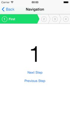 RMStepsController - This is an iOS control for guiding users through a process step-by-step