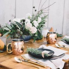 Planning a natural wedding? Plenty of ideas in this vintage-earthy inspiration shoot from Love in Photographs!