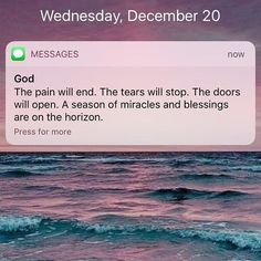you know I needed this God, thank you.
