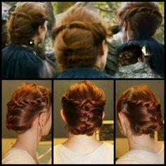 Catlyn Stark hairstyle