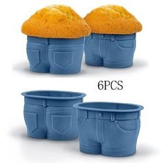 Rather cheeky muffin top baking cups.