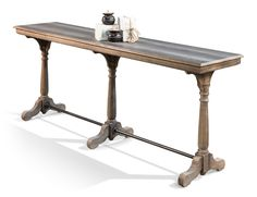 Tri Columned Console , Sarreid Ltd Portal !   Your Source for the Exceptional