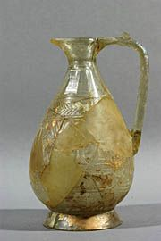 Glass pitcher-armenia 9th -11th