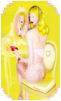 Karlie Kloss in 'Sweet Escape' for W magazine October 2012 | by Nick Knight