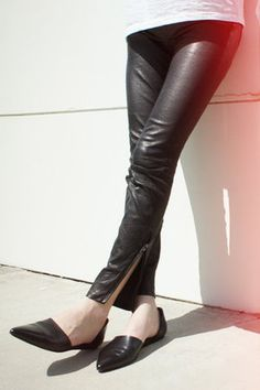 discount best place official site Jenni Kayne Leather D'Orsay Flats sale best prices professional online enjoy for sale ZPman