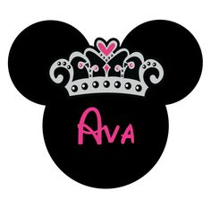 Minnie Mouse crown