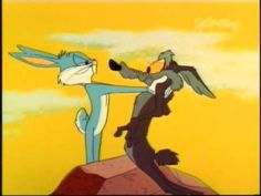 Wile E. Coyote Genius & Bugs Bunny - Rabbit's Feat
