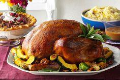 This is it! Here's how to serve up the juiciest, crispiest, most golden bird Thanksgiving's ever seen.