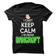 [Hot tshirt name tags] Keep Calm Bancroft Christmas Time  99 Cool City Shirt  Shirts of year  If you are Born live come from Bancroft or loves one. Then this shirt is for you. Cheers !!!  Tshirt Guys Lady Hodie  SHARE and Get Discount Today Order now before we SELL OUT  Camping 4th fireworks tshirt happy july 99 cool city shirt a january thing you wouldnt understand keep calm let hand it funny shirt for tee christmas time