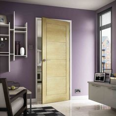 Premdor Monaco Oak Internal Door – Next Day Delivery Premdor Monaco Oak Internal Door Oak Doors, Internal Doors, Tall Cabinet Storage, Modern Design, Bed, Interior, Furniture, Monaco, Home Decor