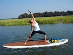 Get SUP and grab a paddle! Check out this fun, fitness activity Stand Up Paddleboarding!