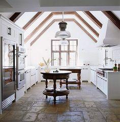 Rustic, yet elegant kitchen