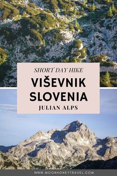 Viševnik (2050 m) is a mountain peak in the Julian Alps, accessible from the Pokljuka plateau in Slovenia. Relatively easy to get to, Viševnik is a popular hiking destination in both summer and winter. It's also a favorite sunrise location among locals. Find out how to get here. #julianalps #slovenia #slovenianalps #alps #triglavnationalpark Hiking Trips, Hiking Europe, Travelling Europe, Scotland Hiking, Slovenia Travel, Bohinj, Julian Alps, Adventure Activities, Best Hikes