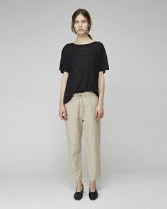 BASE Range / Cropped Linen Pant, BASE Range / Loose Tee