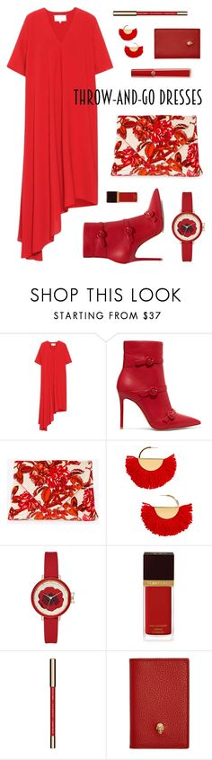 """""""Untitled #73"""" by yszcathy ❤ liked on Polyvore featuring Maison Margiela, Gianvito Rossi, Dries Van Noten, BaubleBar, Tom Ford, John Lewis, Alexander McQueen and Giorgio Armani"""