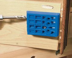 Kreg Tool Tip: Did you know that you can also use your Kreg Jig® Drill Guide Block for benchtop and portable use? Click to learn how!