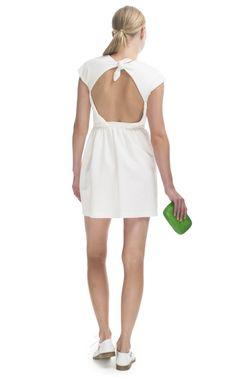 NAHM Terreces Open Back Knotted Dress
