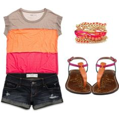 """Sunset :)"" by clojogar on Polyvore"