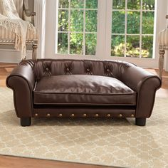 Faux Leather Dog Bed Ideas