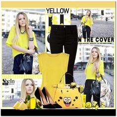 How To Wear Yellow style ) Outfit Idea 2017 - Fashion Trends Ready To Wear For Plus Size, Curvy Women Over 20, 30, 40, 50