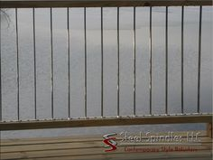 Stratospindle is as thin as wire deck cables by Steel Spindles LLC Deck Balusters, Steel Deck, Contemporary Style, Wire, Stainless Steel, Cable