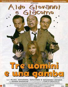 Tre uomini e una gamba, Aldo, Giovanni, Giacomo, Venier
