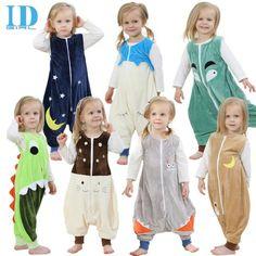 7 Best Baby   Toddler   Chidrens cute Flannel cartoon animal Pajamas ... 23ad562c2