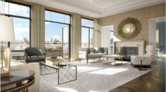 Living room brass