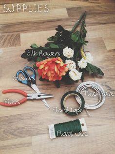 Gabrielle Assaf - DIY Flower Crown Tutorial