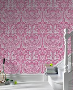 Desire:+Pink+Wallpaper+from+www.grahambrown.com