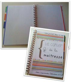 [Outils de planification] Le cahier de la maitresse (cahier journal, relevé de notes, calendrier etc...) - Cycle 2 ~ Orphéecole