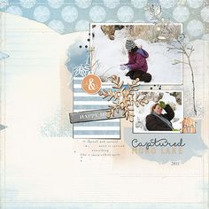 Mono Lake by Lynn Grieveson (The Lily Pad) using Totally Trashed and Chilly papers and Bergen kit.